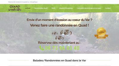 Nouveau site de Quad Var 2018